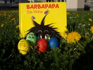 barbapapa eier und die floehe